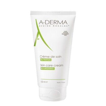 A-Derma Creme Aveia Hidratante 150ml, creme de cuidado nutritivo nutre e acalma as peles frágeis e delicadas de toda a família.