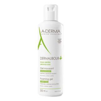 A-Derma Dermalib+ Gel Espuma 250ml,espuma acalma e limpa suavemente as peles irritadas* e fragilizadas. *irritações de origem não patológica A sua espuma delicada é adequada para utilizar no rosto e no couro cabeludo.