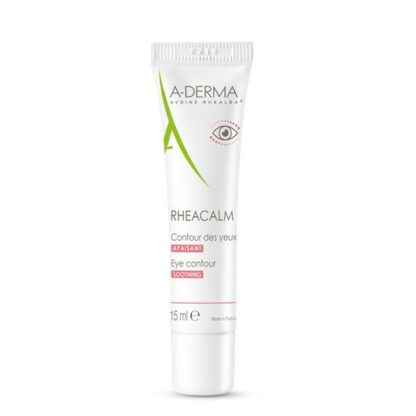 A-Derma Rheacalm Creme Calmante Contorno de Olhos 15ml, creme contorno de olhos calmante acalma de imediato a pele, reduz de forma duradoura a reatividade cutânea e suaviza a zona frágil do contorno dos olhos.