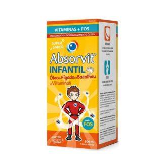 Absorvit Infantil Óleo de Fígado de Bacalhau + Vitaminas 300ml