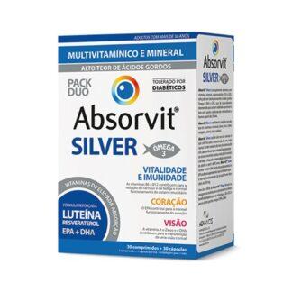 fdce65061fc Absorvit Silver 30 Cápsulas + 30 Comprimidos
