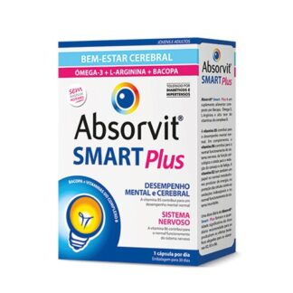 Absorvit Smart Plus 30 Cápsulas