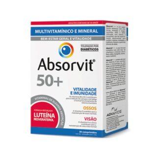 Absorvit Vitaminas 50  - 30 Comprimidos