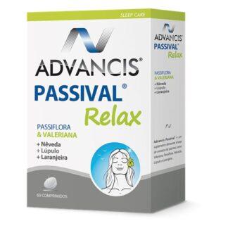 Advancis Passival Relax 60 comprimidos, é um suplemento alimentar. Com a finalidade de garantir dias mais calmos e sem ansiedade.