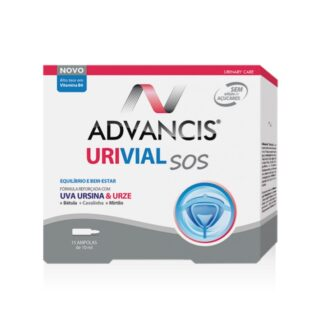 Advancis Urival sos 15 ampolas é um suplemento alimentar com uma fórmula concentrada que contém plantas de uso tradicional,