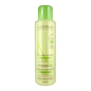 a-derma-exomega-gel-corpo-cabelo-500ml