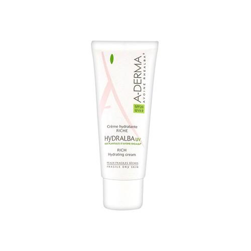 A-Derma Hydralba UV Creme Hidratante Rico SPF20 40ml
