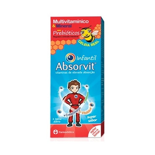 Absorvit Infantil Geleia Real 300ml - Pharma Scalabis