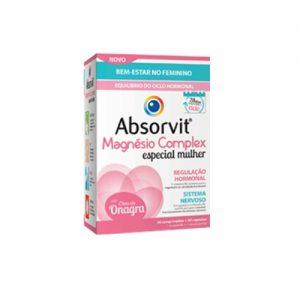 Absorvit Magnésio Mulher 30 comprimidos + 30 cápsulas - Pharma Scalabis