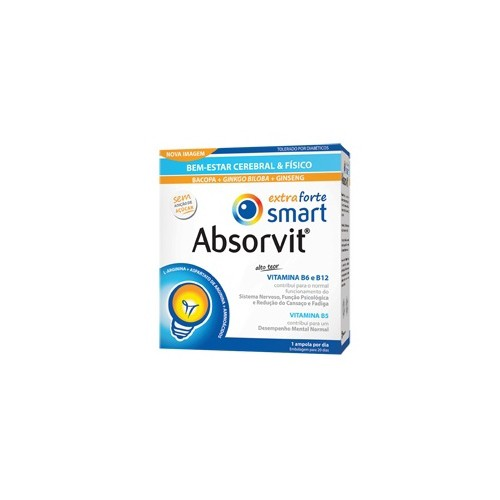 Absorvit Smart Extra Forte 20 Ampolas - Pharma Scalabis