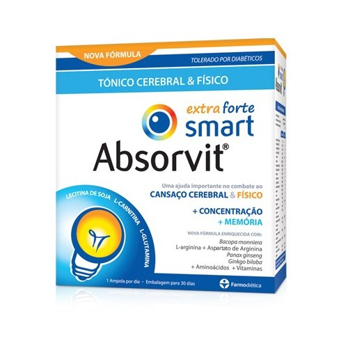 Absorvit Smart Extra Forte 30 Ampolas - Pharma Scalabis