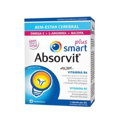 Absorvit Smart Plus 30 Cápsulas - Pharma Scalabis
