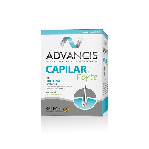 Advancis Capilar Forte 60 Cápsulas - Pharma Scalabis