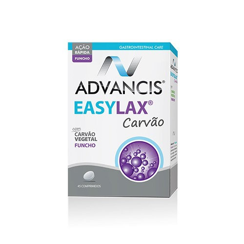 Advancis Easylax Carvão 45 Comprimidos - Pharma Scalabis