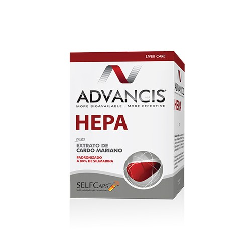 Advancis Hepa 60 Capsulas - Pharma Scalabis