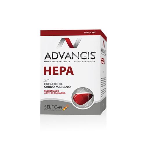 Advancis Hepa 60 Capsulas - Pharma Scalabis