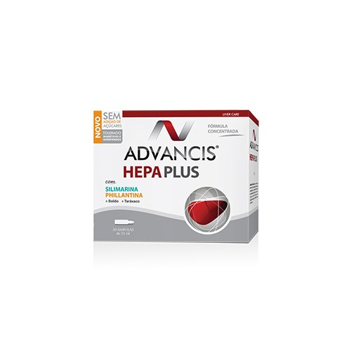 Advancis Hepa Plus 20 Ampolas - Pharma Scalabis