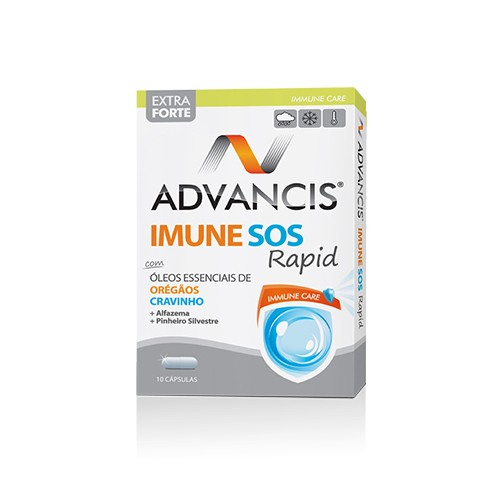 Advancis Imune Sos Rapid 10 cápsulas - Pharma Scalabis