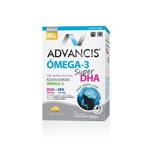 Advancis Omega-3 Super DHA 30 cápsulas
