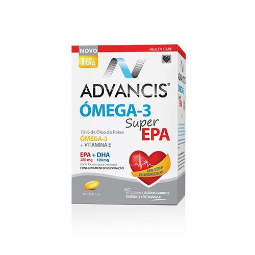 Advancis Omega-3 Super Epa 30 cápsulas