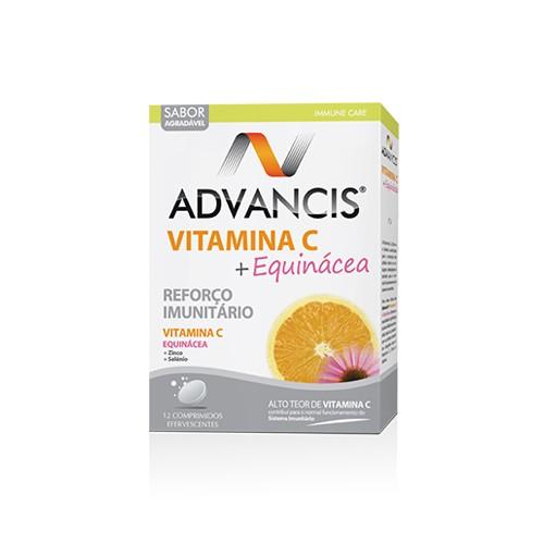 Advancis Vitamina C + Equinácea 12 Comprimidos efervescentes - Pharma Scalabis