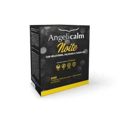 Angelicalm Noite contém melatonina que contribui para reduzir o tempo necessário para adormecer.