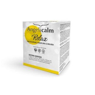 Angelicalm Relax 40 Cápsulas, afórmula de Angelicalm Relax, com Vitamina B1 (tiamina), a Vitamina B6, a Vitamina B12 e Biotina contribui para o normal funcionamento do sistema nervoso e para uma normal função psicológica. Agora Angelicalm também lhe deseja um bom dia!