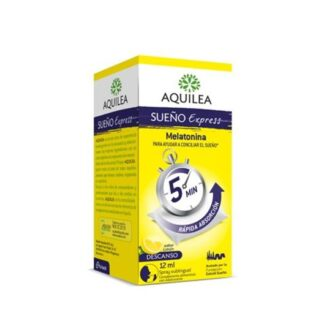 Aquilea Sono Express Spray 12ml, a melatonina ajuda a diminuir o tempo necessário para dormir.