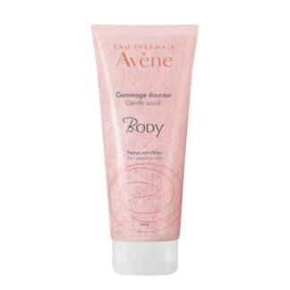 Avene Esfoliante Corporal Body 200ml , 2º passo no ritual de cuidado de corpo: esfoliar delicadamente a pele.