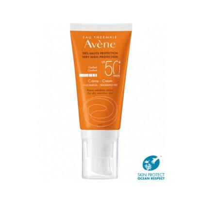Avene Solar Creme Spf 50+ Sem Perfume 50ml