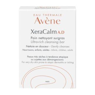 Avene Xeracalm A.D Pain de limpeza nutritivo. Pele muito seca de tendência atópica ou sujeita a prurido.