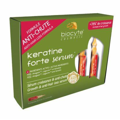 Biocyte Keratine Forte Sérum 5x9ml Ampolas, osérum anti-queda capilar, tecnologicamente mais avançado do mercado