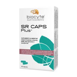 Biocyte SR Plus 60 Cápsulas,graças à uriga, SR caps Plus ajuda a pele com imperfeições da acne.O zinco contribui para a manutenção de uma pele normal e para proteção das células contra a oxidação.
