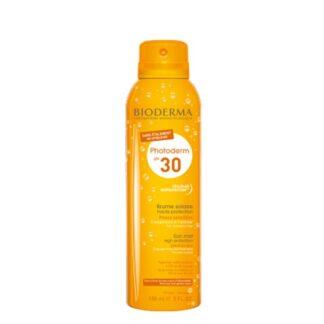 Bioderma Photoderm Bruma SPF30 150ml, elevada fotoproteção transparente sem espalhar