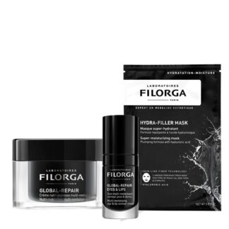 Filorga Gift Box Global Creme + Repair Eyes + Hydra Mask