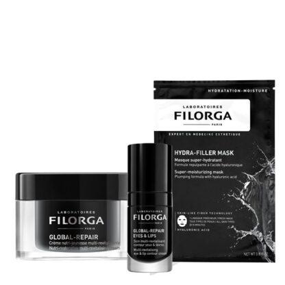 Filorga Gift Box Global Creme + Repair Eyes + Hydra Mask