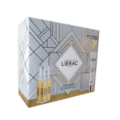 Lierac Coffret Cica Filler Sérum Anti Rugas + Gel-Creme Anti-Rugas Reparador