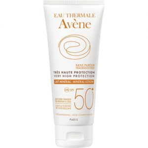 Protetor solar para peles intolerantes 50+