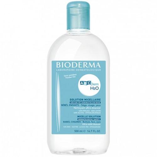 Bioderma ABCDerm H2O Água Micelar Frasco 500ml