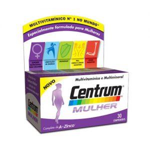 Vitaminas e minerais para uma mulher ativa.