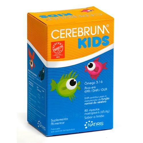 Cerebrum Kids 80 Cápsulas