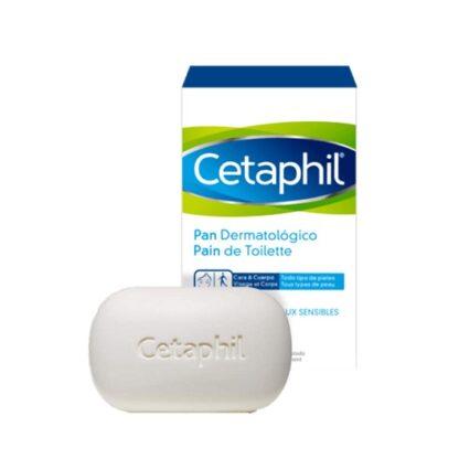 Cetaphil Sabonete Dermatológico 127gr, limpa sem irritar ou secar a pele, deixando-a suave e hidratada. Indicado para pele sensível e seca.