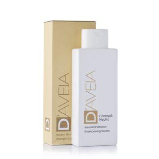 D-Aveia Champô Neutro Lavagens Frequentes 200ml,champô suave e delicado, com pH fisiológico e sem tensioativos agressivos, especificamente desenvolvido para a higiene quotidiana do cabelo e couro cabeludo sensível