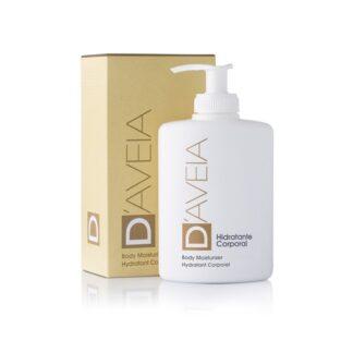 D-Aveia Creme Hidratante Corpo 300ml com reconhecidas propriedades hidratantes, emolientes, antioxidantes, calmantes e suavizantes.