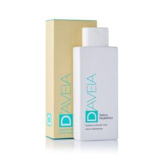 D-Aveia Íntimo Pediátrico 200ml, emulsão de higiene íntima infantil, com pH alcalino idêntico ao fisiológico