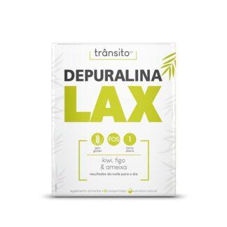 Depuralina Lax 15 Comprimidosé um Suplemento Alimentar à base de: Sene, Cáscara Sagrada, Aloé Vera, FOS, Ameixa, Figo e Kiwi.