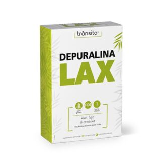 Depuralina Lax 30 Comprimidos é um Suplemento Alimentar à base de: Sene, Cáscara Sagrada, Aloé Vera, FOS, Ameixa, Figo e Kiwi.