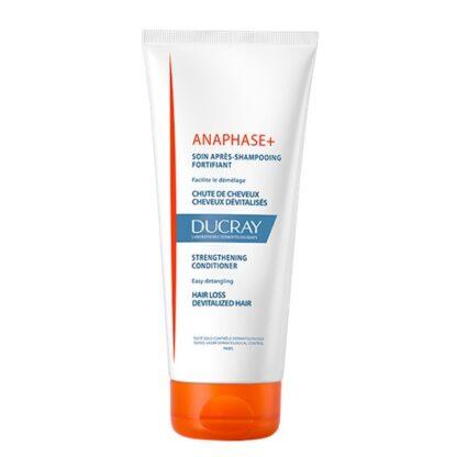 Ducray Anaphase Cuidado Após Champo Fortificante 200ml, Desembaraça o cabelo quando usado em complemento ao Anaphase+ Champô. Pode ser usado durante a gravidez, amamentação e tratamento de cancro.