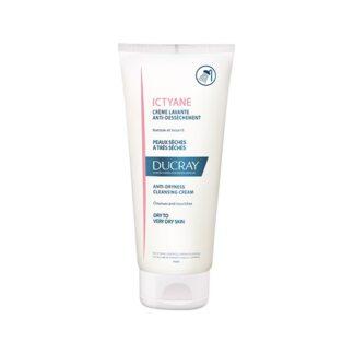 Ducray Ictyane Creme Lavante 200ml, higiene da pele seca a muito seca.
