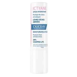 Ducray Ictyane Stick Labial Hidratante 3gr, cuidado hidratante e protetor dos lábios secos e deteriorados pelo stress climático